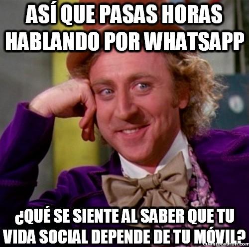 Wonka - Así es mi vida social