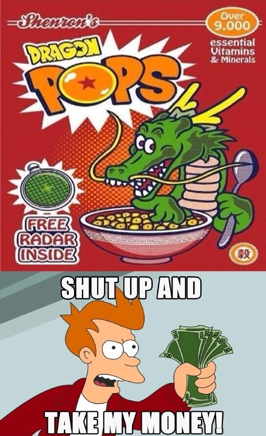 Meme_fry - Los cereales de desayuno que siempre he soñado