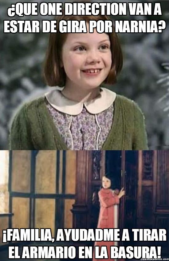 Meme_otros - Ni Narnia está a salvo