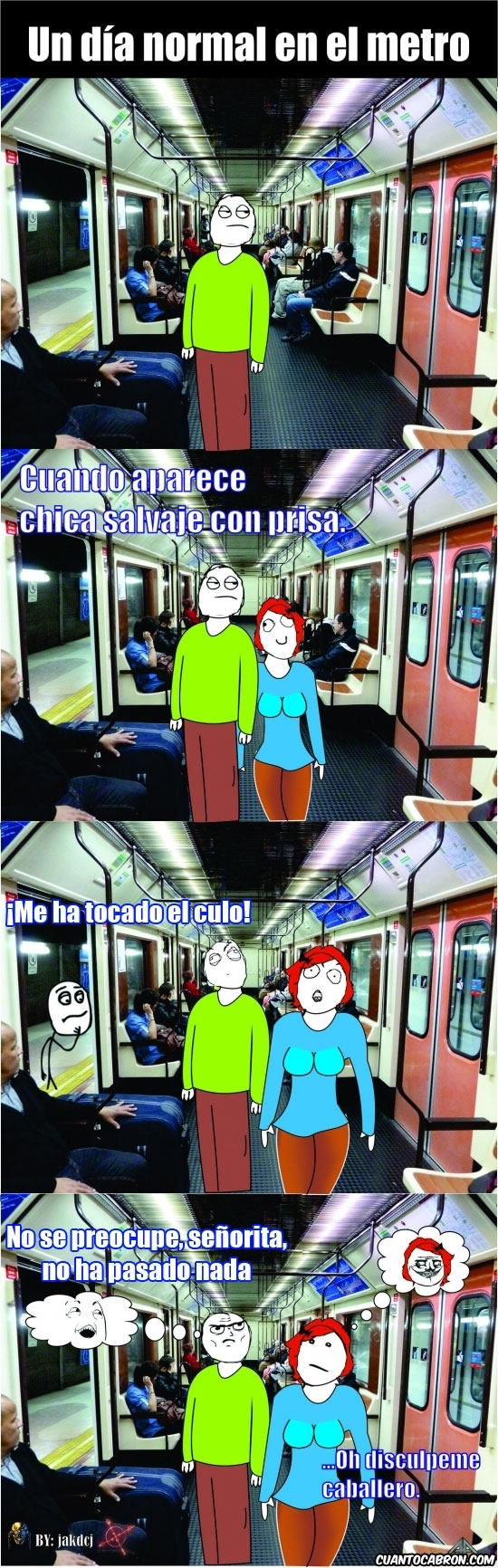 Me_gusta - Un día en el metro que jamás olvidaré