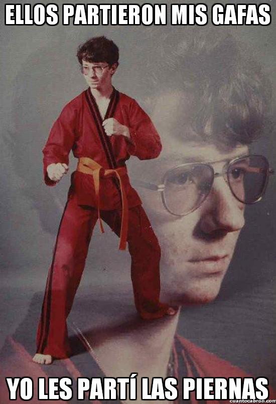 Karate_kyle - No juegues con las gafas de Kyle