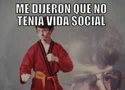 Enlace a Vida social