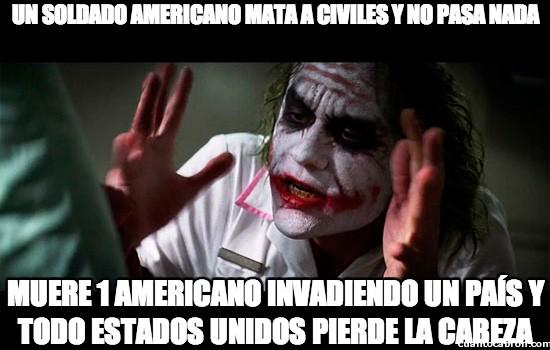 Joker - El doble rasero de los estadounidenses