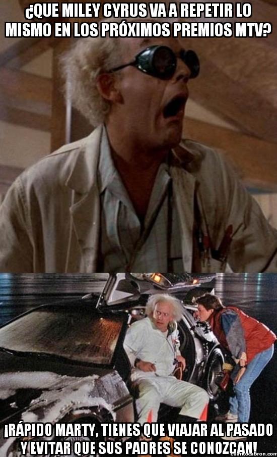 Meme_otros - Marty, eres la última esperanza de la humanidad, al menos de la música
