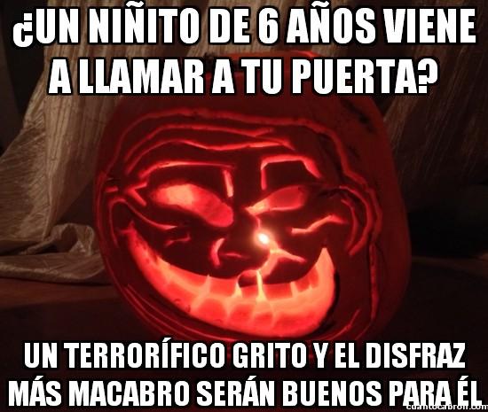Meme_otros - Preparativos troll para Halloween