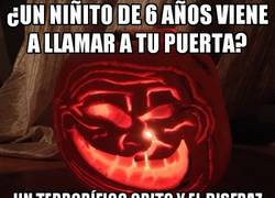 Enlace a Preparativos troll para Halloween