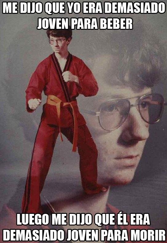 Karate_kyle - Kyle de botellón