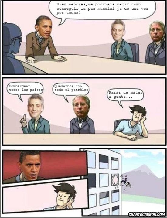 Otros - ¿Quieres que Obama pierda su premio nobel o qué?