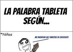 Enlace a Diferentes tipos de tabletas