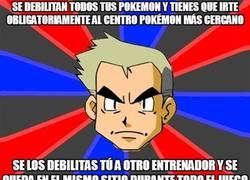 Enlace a Será que a los demás no les importan sus Pokémon