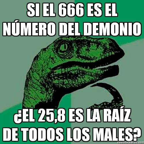 Philosoraptor - El número del demonio