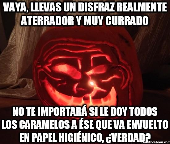 Meme_otros - La injusticia de los disfraces de Halloween