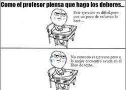 Enlace a Profesor vs realidad