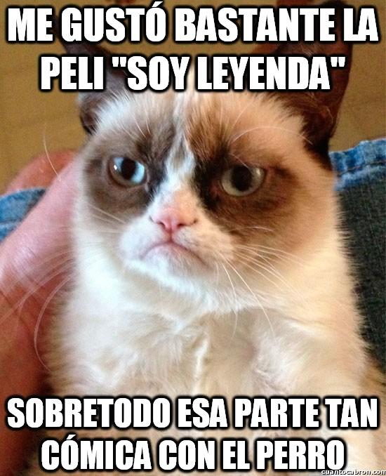 Grumpy_cat - La parte favorita de ''Soy leyenda'' de Grumpy