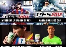 Enlace a Cristiano Ronaldo y su manía de quitar publicidades