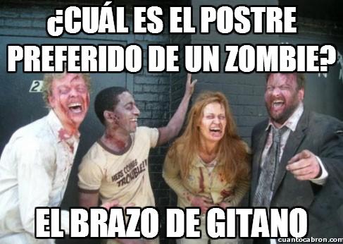 Zombie - ¿Cuál es el postre preferido de un zombie?