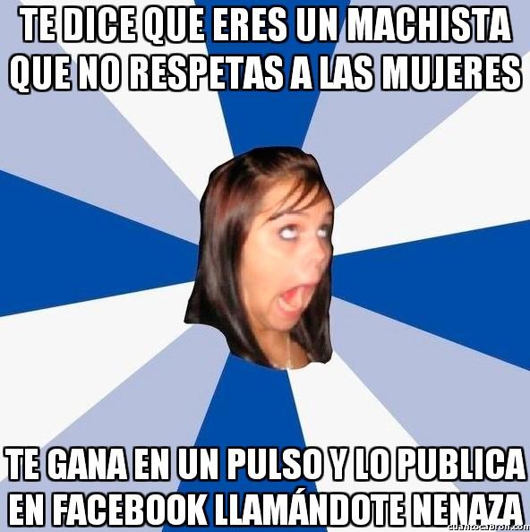 Amiga_facebook_molesta - Contradicción en sí misma
