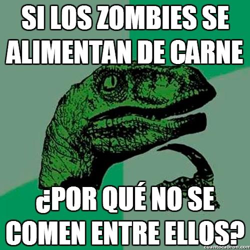 Philosoraptor - Una duda sobre zombies