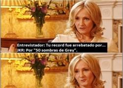 Enlace a JK Rowling sabe de qué va el tema
