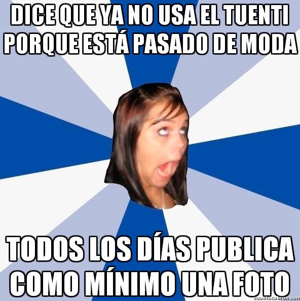 Amiga_facebook_molesta - Mucho hablar, pero a la hora de la verdad...