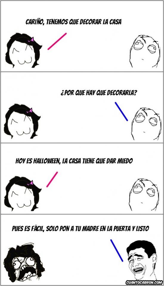 casa,decorar,fácil,halloween,madre,miedo