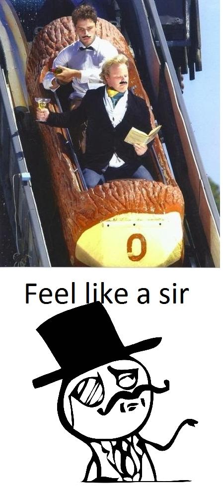 Feel_like_a_sir - Feel like a sir en el parque de atracciones