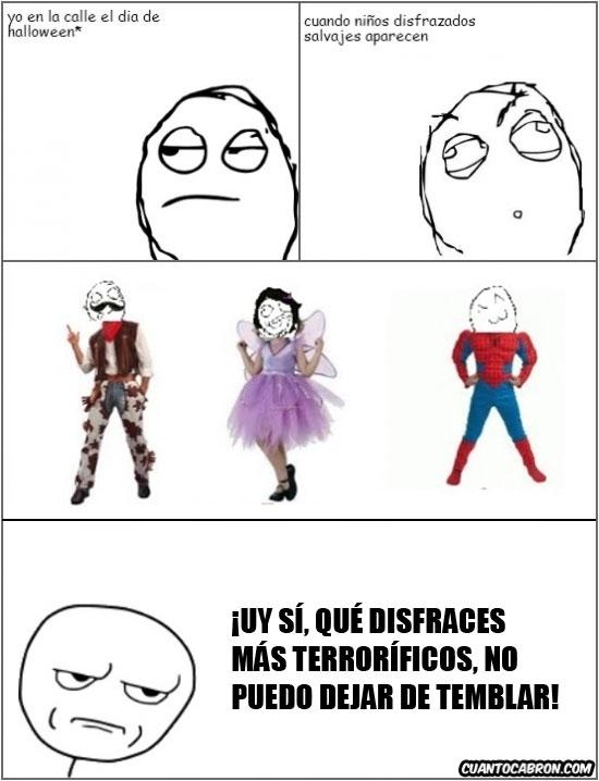 disfraces no terrorificos,disfraz,disfrazarse,halloween,niños,random