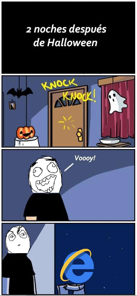 Otros - Halloween con IE