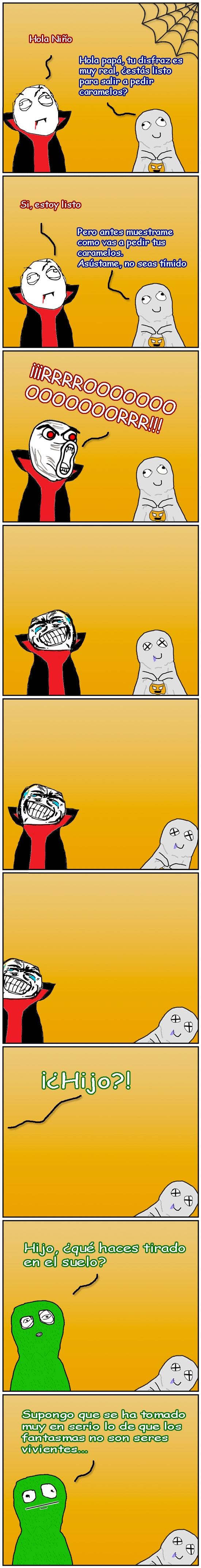 Pokerface - Padres trolls en Halloween