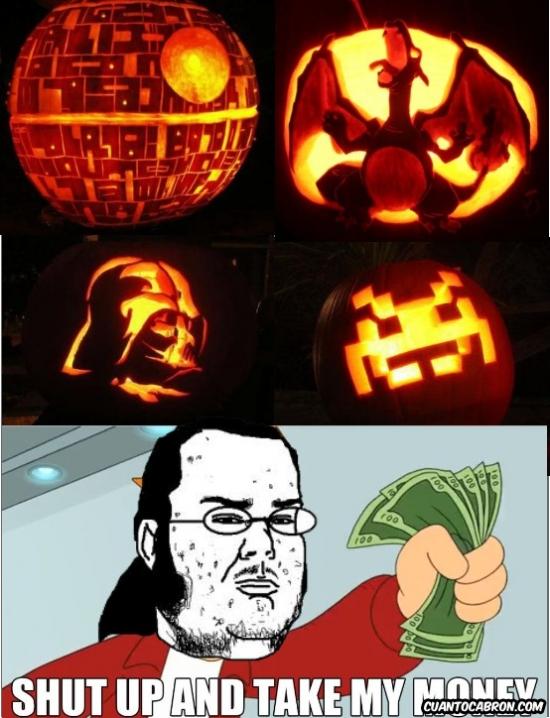 Friki - Las mejores calabazas de Halloween