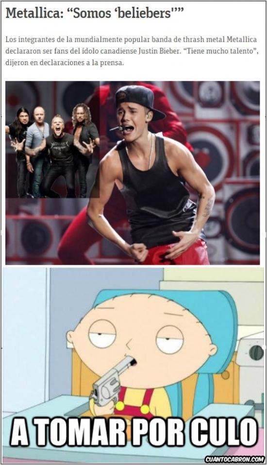 Otros - Ya he perdido la fe en los de Metallica