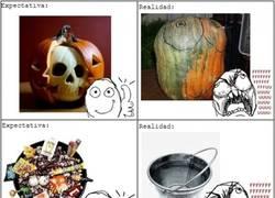 Enlace a La triste realidad de Halloween