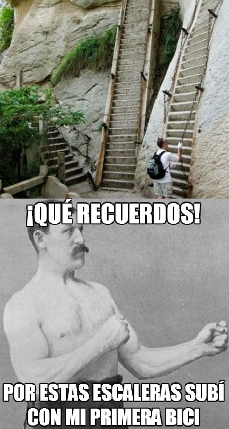 Overly_manly_man - Las escaleras de mi infancia