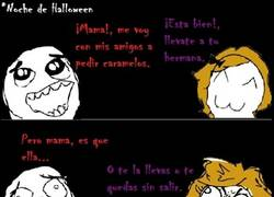 Enlace a Mi hermana en Halloween
