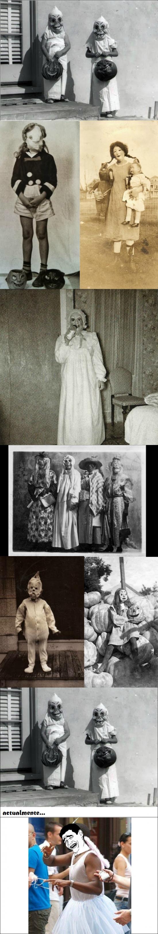 Yao - Halloween de antes y de ahora