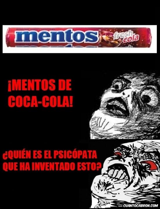 Inglip - ¿Mentos de Coca-Cola?