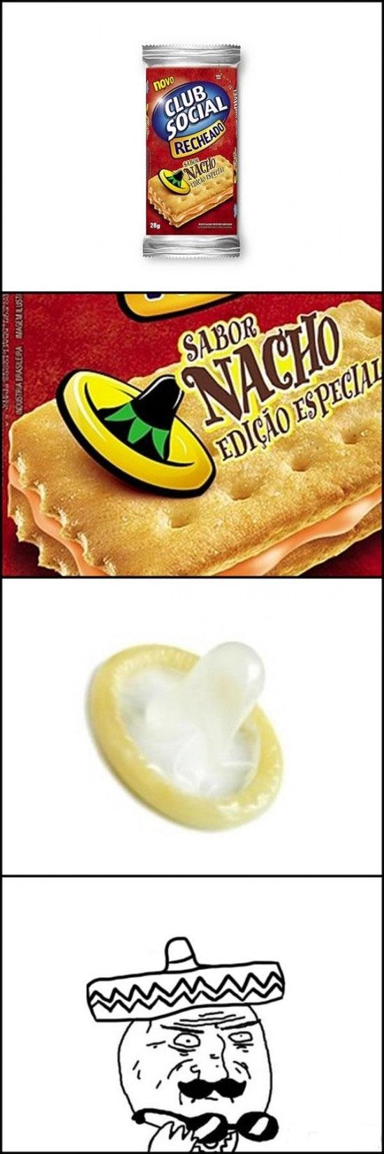 Mother_of_god - Preservativos con sabor a nachos