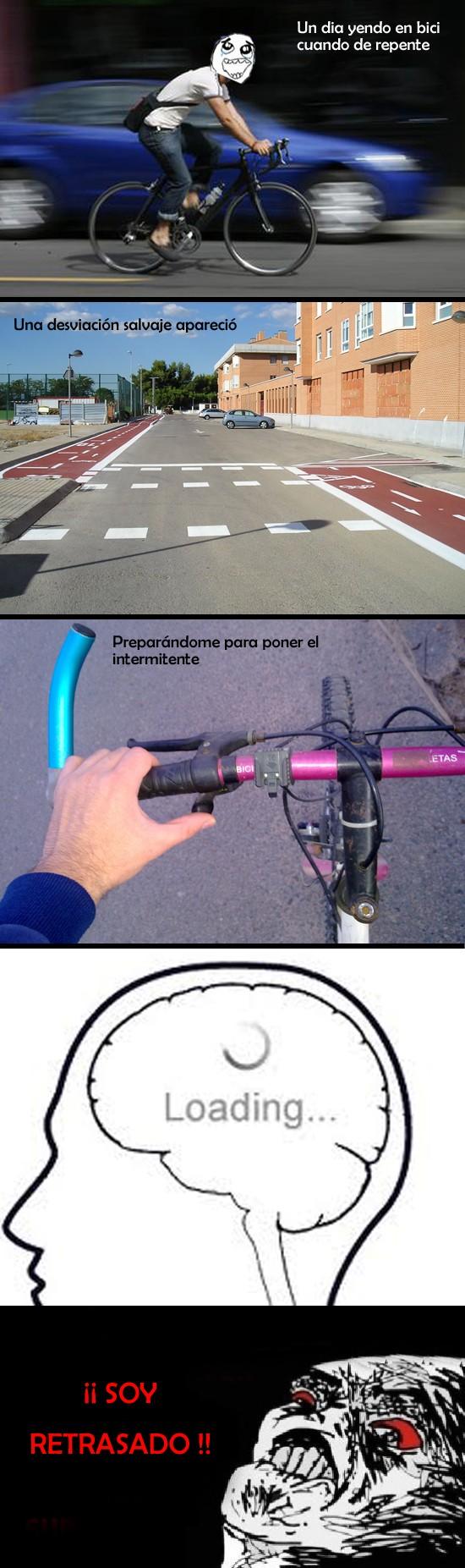 Inglip - Desviación en bici