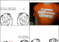 Enlace a Camisetas traicioneras