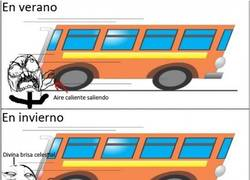 Enlace a Aire caliente del autobús