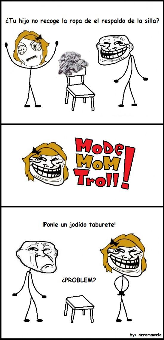 Trollface - La solución para todas las madres troll