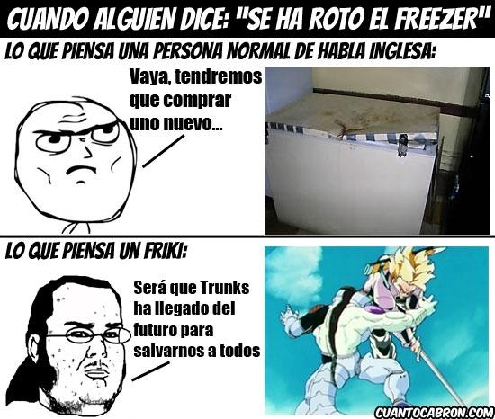 Friki - Se ha roto el freezer