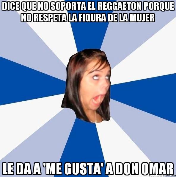 Amiga_facebook_molesta - Cuidado con los 'Me gusta' traicioneros
