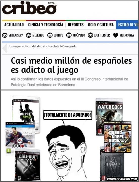 Yao - Españoles adictos al juego