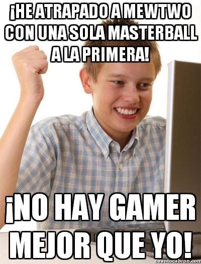 Novato_internet - El mejor gamer de todos los tiempos