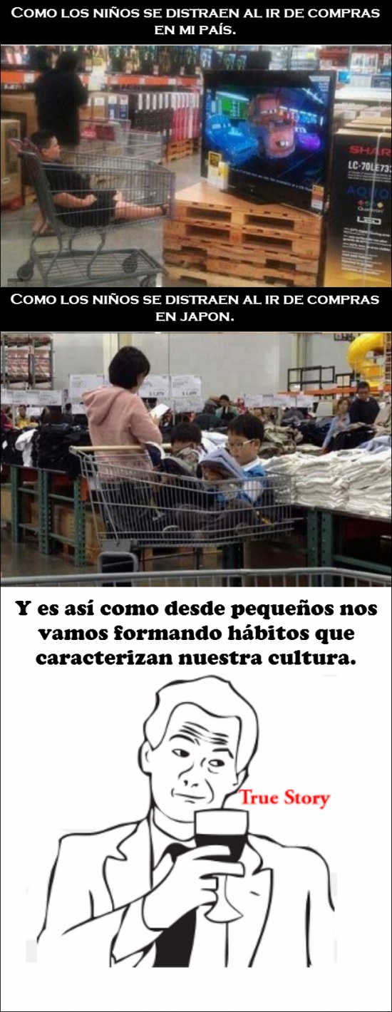 Otros - La diferencia cultural viene desde la infancia