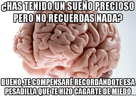 Cerebro_troll - Maldito cerebro, ¿por qué recuerdas sólo las cosas malas?