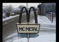 Enlace a McDonald's edición metal