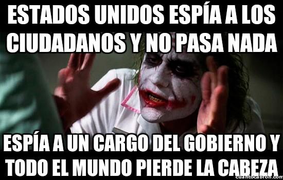 Joker - Estados Unidos espiando a todo el mundo