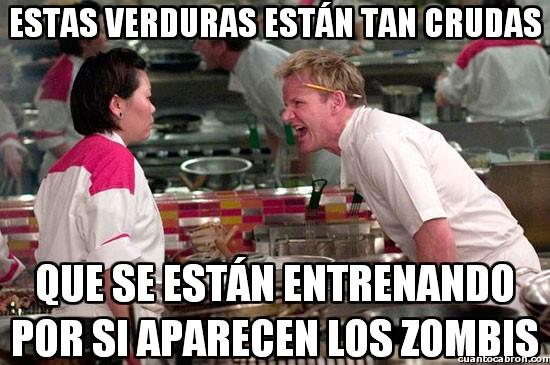 Chef_ramsay - Verduras demasiado crudas